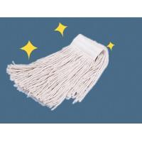 Wholesale Commercial Dust Head Cotton Wet Floor Mop WIth polymer yarn connector from china suppliers