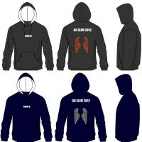 Wholesale Women 300gsm Cotton Fleece Custom Zip Hooded Sweatshirt Silk Screen Printing from china suppliers