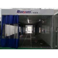 Wholesale Commercial Cabinet Spray Booth Galvanized Steel Roof With Prep Station from china suppliers