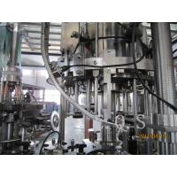 Wholesale 3 In 1 Small Capacity Automatic Beer Filling Machine , 300Bph - 500Bph Beer Bottling Machine from china suppliers