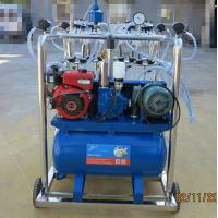 Wholesale Stainless Steel 4 Bucket Milking Machine With 1440 r / Min Motor Speed from china suppliers