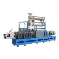 Wholesale Free formula and installation 2500-3000kgs/h steam type double screw extruder pet food making machine from china suppliers