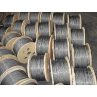 Wholesale Dia 3mm ASTM Wire Rope 1960MPA , 7x7 Stainless Steel Wire Rope from china suppliers