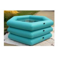 Wholesale Durable Small Inflatable Deep Pool 0.9mm PVC Tarpaulin Easy To Clean from china suppliers