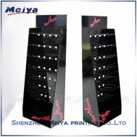 Wholesale Cardbaord Floor Hook Stands For Display , Phone Accessory Hook Display Rack from china suppliers