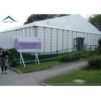Wholesale ABS Sidewall 20mx40m Event Gazebo Party Tent With Round Tables Chairs from china suppliers