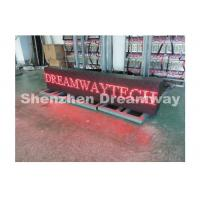 Wholesale Outdoor LED Moving Message Display P10 1R With 1600 x 320 mm For Text from china suppliers