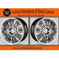Wholesale 22 inch Off Road Black Wheels Gun Metal Machine Face Wheel For SUV from china suppliers