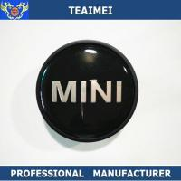 Wholesale 55MM Custom Mini Logo Alloy Car Wheel Center Caps / Chrome Car Logo from china suppliers