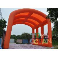 Wholesale Orange Inflatable Customized Oxford Tent Large Arch tent For Ourdoor Event from china suppliers