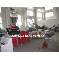 Wholesale SBG250 PVC, UPVC Double Wall Corrugated Pipe Machine with Conical twin screw from china suppliers