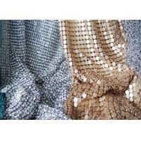 Wholesale Square Sequin Brillant Metallic Mesh Fabric For Decoration CE SGS Listed from china suppliers