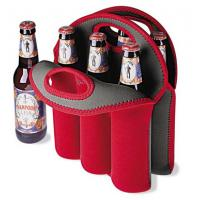 Wholesale Hot-selling High quality Neoprene 6-pack bottle bag 6-pack Wine holder Water bottle bag from china suppliers