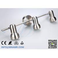 Quality 3 Outlets Spot Light Ceiling Bar Light Chrome Come With AC220V 3X5W GU10 LED Lamp for sale
