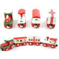 Wholesale Wooden Christmas Train, Wooden Train Toys from china suppliers