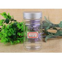 Wholesale Transparent PET Plastic Cosmetic Jar Container with Aluminum / Plasitc Cap from china suppliers
