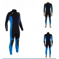 Wholesale 3mm CR Neoprene Diving Suit for Men Water Sports , Smooth Skin from china suppliers