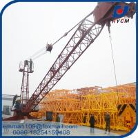 Wholesale New Design Derrick Crane QD2025 Model 20mts Jib Top Slewing Type from china suppliers