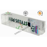 Wholesale Electronics Ballpoint Plastic Packaging Boxes , Clear Plastic Display Boxes from china suppliers