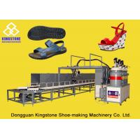 PU Injection Moulding Machine , Polyurethane Foam Machine For High Heel Shoes
