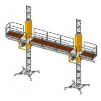 Wholesale Aluminium Work Platform Mast Climber Scaffolding Hanging Scaffold Systems from china suppliers