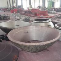 Wholesale high manganese steel casting concave and mantle cone liner with Mn13Cr2 Mn18Cr2 Mn22Cr2 from china suppliers