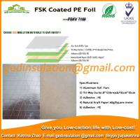 Wholesale FSK Coated PE Foil aluminum foil composite material from china suppliers