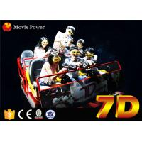 Wholesale Electronic cinema system 7d rider cinema with interactive game for children from china suppliers