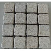 Wholesale White, Light Yellow Granite Pavers, Sideway Granite Yellow Paving Stone from china suppliers