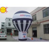 Wholesale Giant Black And White Inflatable Ground Balloon Commercial Grade For Advertising from china suppliers