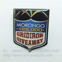 Wholesale Epoxy Offset Print steel Lapel pins, custom offset print pin badge with epoxy coat from china suppliers