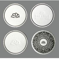 Wholesale 4c printed Custom made Logo promotional Tissue Coasters for Hotel drinks from china suppliers