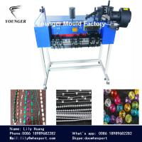 Quality roller blinds zebra curtains rosary yarn thread string round plastic ball chain moulds mold and making machine for sale