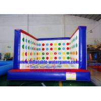 Wholesale Professional Inflatable Twister Game , Hire Inflatable Games 4M X 4M from china suppliers