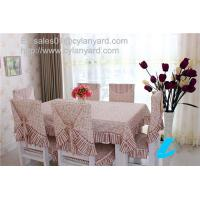 Wholesale Floral design Cotton Table Sheet For Six Seater Dining Table, stylish print tablecloths, from china suppliers