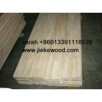 Wholesale rubbruwood  solid wood stair treads from china suppliers