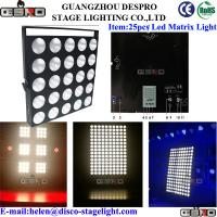 Wholesale 25pcs 10W LED Matrix light DMX512 Disco DJ Stage Lighting Color Mixing from china suppliers