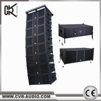 Wholesale wireless home theater system CVR powered professional line array speaker W-210BP from china suppliers