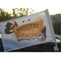 Wholesale Outdoor Automotive Car Advertising Flag Banners With Pvc Plastic Pole from china suppliers