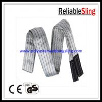 "Wholesale Light weight 4"" Polyester webbing boat / crane lifting slings 4 Ton 6 Ton 12 Ton from china suppliers"