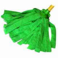Wholesale Cut-end Microfiber Terry Cloth Wet Mop with Good Wear Resistance, Customized Sizes are Accepted from china suppliers