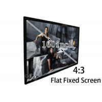 Wholesale Big 160 Inch 4 To 3 Front Projector Screen 160 Degree View Angle from china suppliers