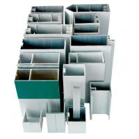 Wholesale Hidden Frame Aluminium Curtain Walling Systems Extruded For Villas from china suppliers