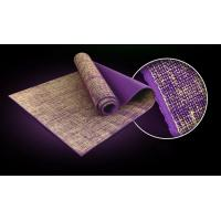 Wholesale Ningbo Virson colourful 4mm eco high density pvc jute yoga mat from china suppliers