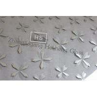 Wholesale 5MM painting tempered glass with flat polished edge from china suppliers
