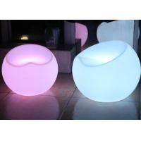 Wholesale Outdoor Party Club Decoration Led Light Chair , Apple Shape Garden Led Chairs And Tables from china suppliers