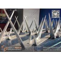 Wholesale 1.2m galvanised Wall Razor Spikes made in China | ISO9001 certificated from china suppliers