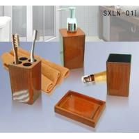 Wholesale Orange plastic bathroom set from china suppliers