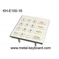 Wholesale 16 Keys 4X4 Matrix Metal Keypad Laser Engraved Characters For Access Control System from china suppliers