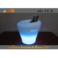 Wholesale Rechargeable Multi-Color Led Lighting Furniture Ice Bucket For Bar from china suppliers
